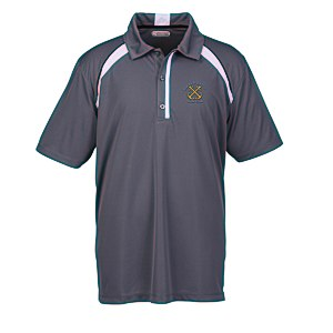 Quinn Colorblock Textured Polo - Men's - 24 hr Main Image
