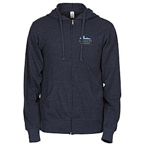 Independent Trading Co. 4.5 oz. Full Zip Hoodie-Embroidered Main Image