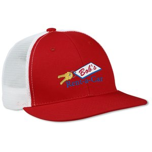 Flat Bill Trucker Cap Main Image