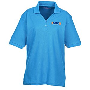 Soft Touch Pique Y-Placket Sport Shirt - Ladies' Main Image