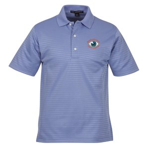 Shadow Stripe Interlock Polo - Men's Main Image
