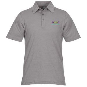 Ring Spun Cotton Slub Polo - Men's Main Image