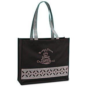 Cutout Accent Tote Main Image