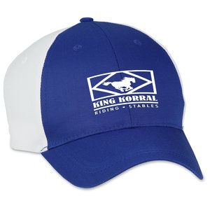 Two-Tone Polyester Cap - Transfer Main Image