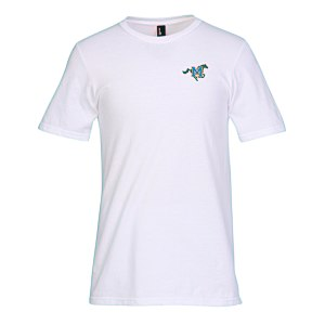 District Concert Tee - Men's - White - Emb
