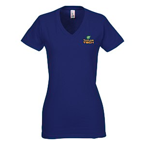 District Concert V-Neck Tee - Ladies' - Colors - Emb Main Image