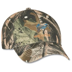 Polyester Camo Hunter Cap - Embroidered Main Image