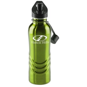 Curve Stainless Steel Bottle - 28 oz. - Closeout Main Image