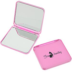 Magnifying Compact Mirror - Translucent Main Image