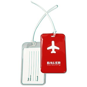 Frequent Flyer Luggage Tag Main Image