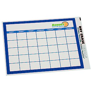 Removable Monthly Calendar Decal - Trellis Main Image