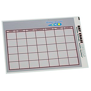 Removable Monthly Calendar Decal - Executive Main Image