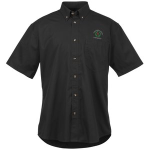 Capulin EZ-Care SS Fine Line Twill Shirt - Men's