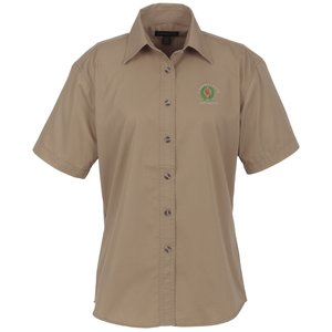 Capulin EZ-Care SS Fine Line Twill Shirt - Ladies' Main Image