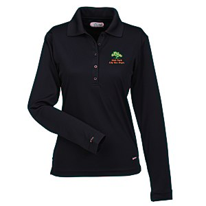 Brecon Long Sleeve Moisture Wicking Polo - Ladies' Main Image