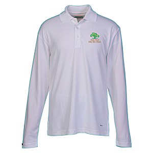 Brecon Long Sleeve Moisture Wicking Polo - Men's Main Image
