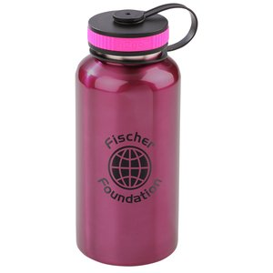 h2go Wide Stainless Sport Bottle - 40 oz.- Closeout Main Image