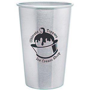 Stainless Steel Pint Glass - 16 oz. - 24 hr Main Image