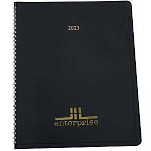 Leatherette Monthly Planner Main Image