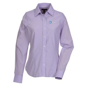 Hayden EZ-Care Checked Shirt - Ladies' - 24 hr Main Image