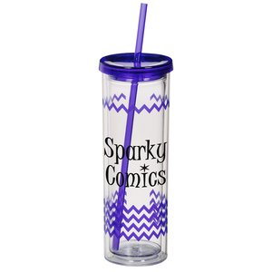 Color Scheme Montara Spirit Tumbler - 16 oz- Chevron - 24 hr Main Image