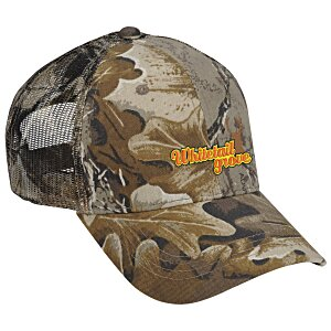 Outdoor Cap Mesh Camo Hat - Advantage Classic Main Image