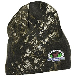 Kati Camo Knit Beanie - Mossy Oak Break-Up Main Image