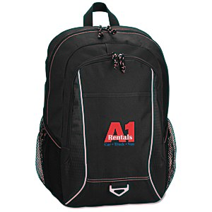 Atlas Laptop Backpack - Embroidered Main Image