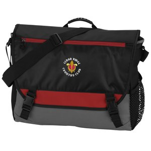 Intensity Laptop Messenger - Embroidered Main Image