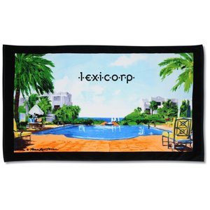 "The Good Life Beach Towel - 35"" x 60"" - Closeout Main Image"