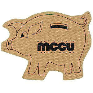 Cushioned Jar Opener - Piggy Bank