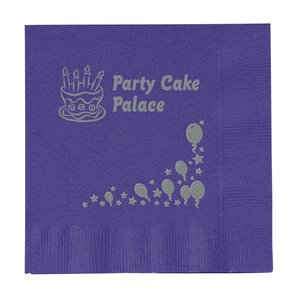 Colorware Beverage Napkin - 2-ply - Color-Low Qty-Celebrate Main Image