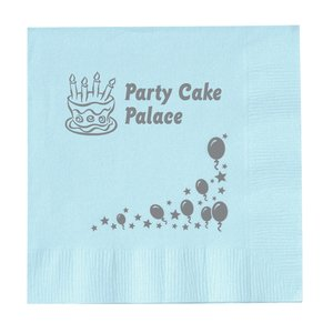 Colorware Beverage Napkin - 2-ply - Color - Celebrate