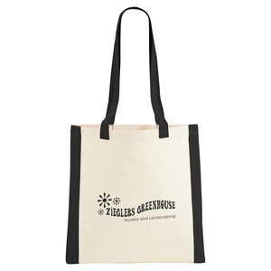 Color Edge Cotton Convention Tote Main Image
