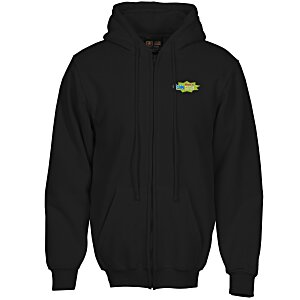Bayside USA Made Full Zip Hoodie - Embroidered