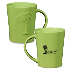 Palm Ceramic Mug - 12 oz. - 24 hr Main Image
