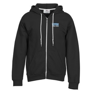 Anvil Fashion Full Zip Hoodie - Men's - Embroidered Main Image