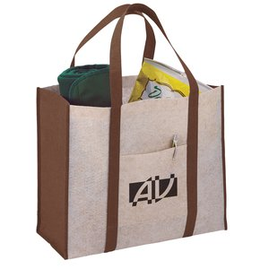 Oversized Jute Blend Boat Tote - Closeout Main Image