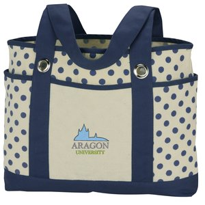 Audrey Fashion Tote - Embroidered Main Image