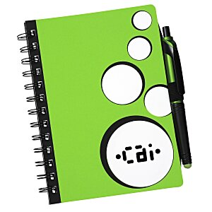 Bubbly Notebook with Stylus Pen Main Image