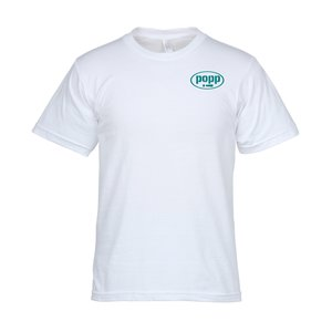 Bayside USA Made Jersey Tee - Men's - White Main Image