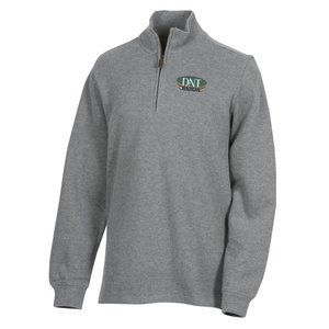 Portland 1/4 Zip Flat Back Pullover Main Image