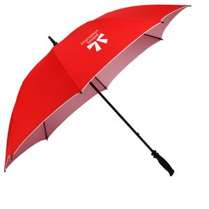 "Colortone Double Sided Golf Umbrella - 62"" Arc-Closeout Main Image"