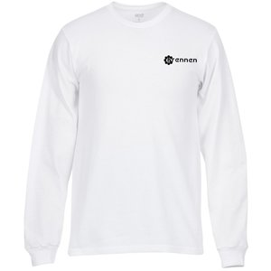 Anvil American Classic LS Tee - White Main Image