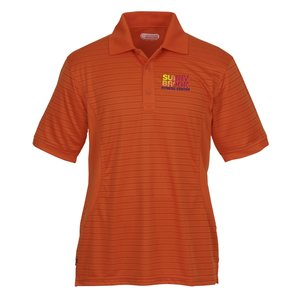 Koryak Striped Moisture Wicking Polo - Men's - 24 hr Main Image