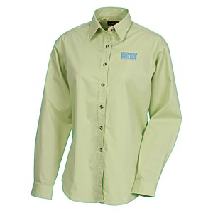 Capulin EZ-Care Fine Line Twill Shirt - Ladies' - 24 hr Main Image