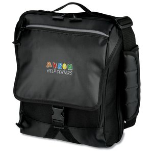 Life in Motion Netbook Vertical Laptop Bag - Embroidered Main Image
