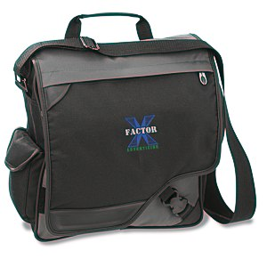 Satellite Vertical Laptop Bag - Embroidered Main Image