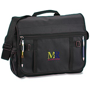 Global Messenger Bag - Embroidered Main Image