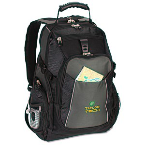 Vertex Laptop Backpack - Embroidered Main Image